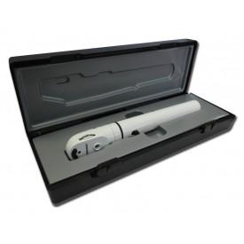 OFTALMOSCOPIO E-SCOPE® - alogeno 2.5V -nero- in valigetta rigida
