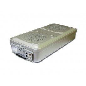 CONTAINER STANDARD 285 x 280 x 100 mm - 1 filtro - n.p. - grigio
