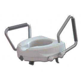 RIALZO WC - con braccioli fissi - 12.5 cm
